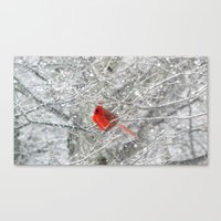 The Heart of Winter Canvas Print