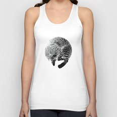 PURRFECT MOON Unisex Tank Top