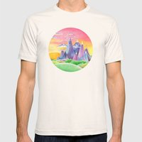 The Ice Kingdom Mens Fitted Tee Natural SMALL