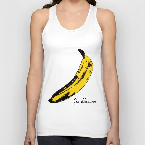 Go Banana  Unisex Tank Top