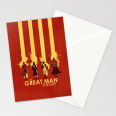 The Great Man Theory Stationery Cards