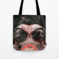 Tote Bag featuring Dreams Of Space by Robert Høyem