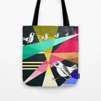 Feeling Like A Bird Stuc… Tote Bag