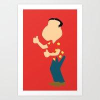 Family Guy - Glenn Quagmire Art Print