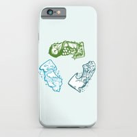 iPhone & iPod Case featuring Refresh by Lee Grace Illustration