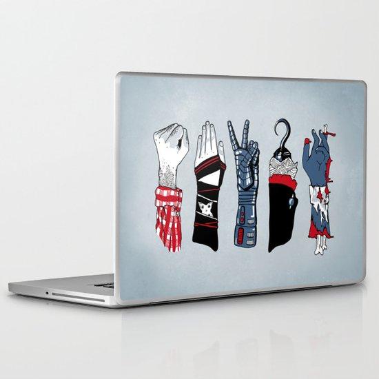 Epic Rock Paper Scissors Battle Laptop & iPad Skin