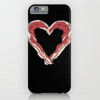 Baconlove (black background) iPhone 6 Slim Case