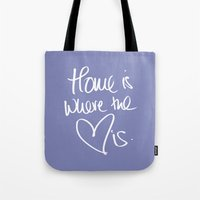 Home is where the heart is 2 Tote Bag