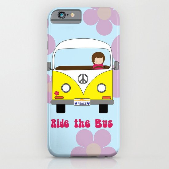 Ride the Bus iPhone & iPod Case
