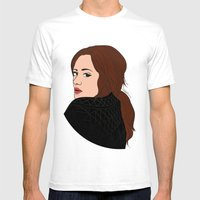 Divas Of POP: Adele Mens Fitted Tee White SMALL