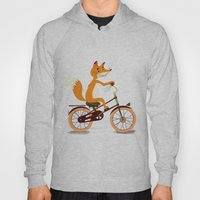 Little Fox On The Bike Hoody