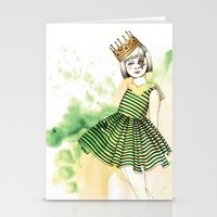 Little Queen Stationery Cards