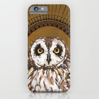 iPhone & iPod Case featuring Kana Pueo by Kelly McCollum
