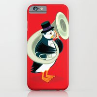 Puffin On A Tuba iPhone 6 Slim Case