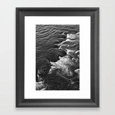 Rushing Waters  Framed Art Print
