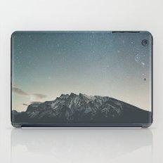 Stars over Minnewanka  iPad Case