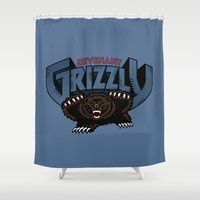 Revenant Grizzly Shower Curtain