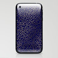 Gold Berry Branches On N… iPhone & iPod Skin