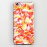 Smokey Flowers iPhone & iPod Skin