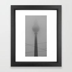 Fade to Grey (Berlin) Framed Art Print