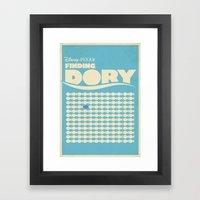 Finding Dory Poster Set Framed Art Print