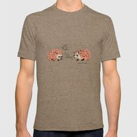 I'm on a cleanse. Mens Fitted Tee Tri-Coffee SMALL