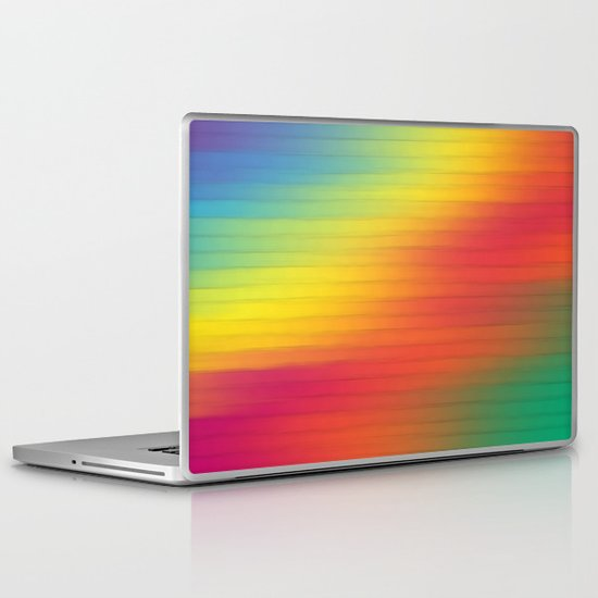 Paint The Fence. Laptop & iPad Skin