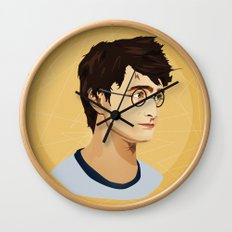 The Boy Who Lived Wall Clock