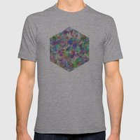 Panelscape - #1 society6 custom generation Mens Fitted Tee Athletic Grey SMALL