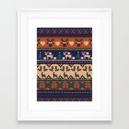 Christmas With You Framed Art Print