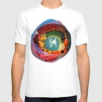 the abstract dream 18 Mens Fitted Tee White SMALL
