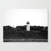 Black And Light Canvas Print