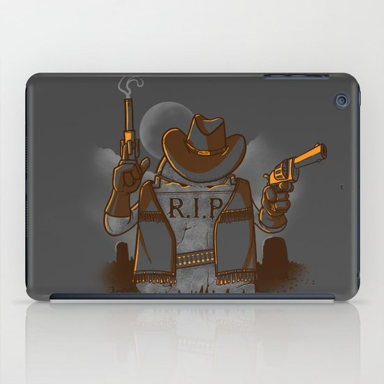 Tombstoned iPad Case