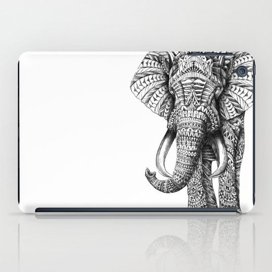 Ornate Elephant iPad Case