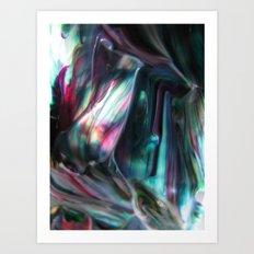 Morpho adularia Art Print