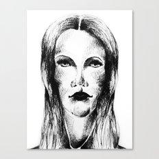 Goth Girl Canvas Print