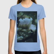 Witching Hour Womens Fitted Tee Athletic Blue SMALL