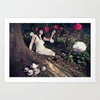 Alice In Memoriam Art Print