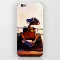 Wall-E & Eve - Painting … iPhone & iPod Skin