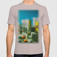 city Mens Fitted Tee Cinder SMALL