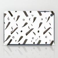Brushes Pattern iPad Case