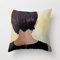 Roya Throw Pillow
