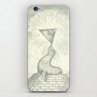 The Masonic Seal iPhone & iPod Skin