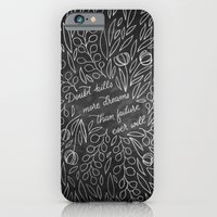 iPhone & iPod Case featuring Doubt Kills More Dreams by Casey Ligon
