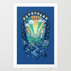 The Robot's Renaissance Art Print