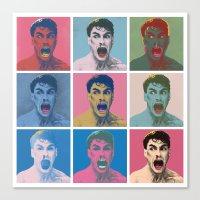 Van Warhol Canvas Print