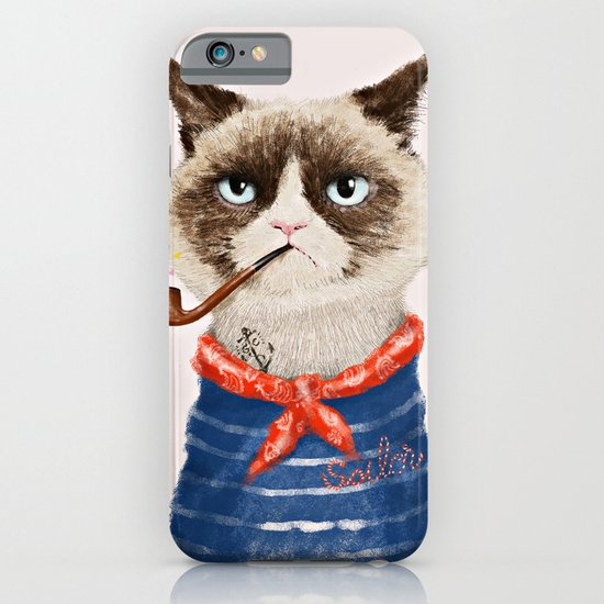 Sailor Cat V iPhone & iPod Case