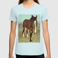 I dream of draft Womens Fitted Tee Light Blue SMALL