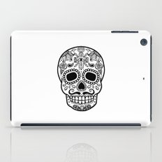 Mexican Skull - White Edition iPad Case