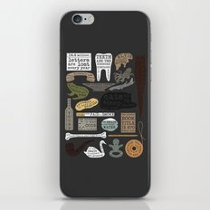 22 Facts - Useful Facts iPhone & iPod Skin